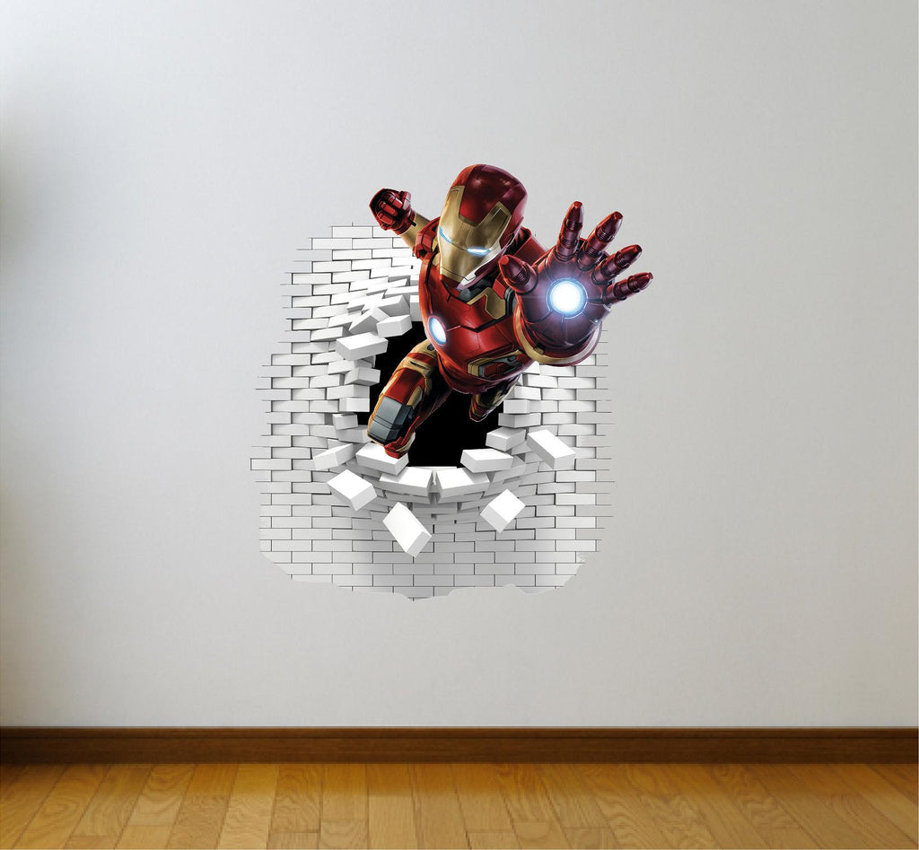 Iron Man Wall Stickers Decal Art Og Text - Wall stickers art