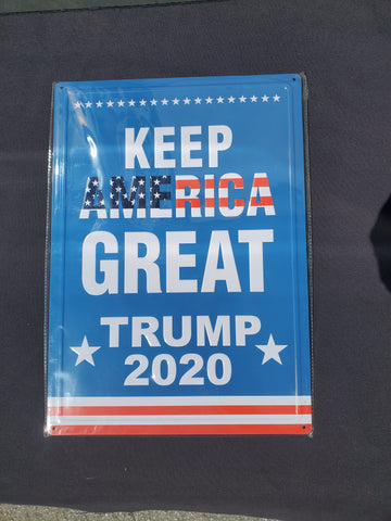 Trump Metal Sign KAG