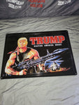Trump Metal Sign Rambo