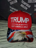 "Embroidered ""TRUMP W/Eagle  Bill""  Hat"