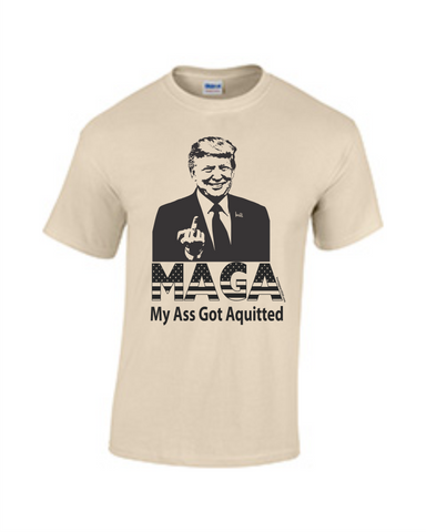 MAGA My Ass Got Aquitted
