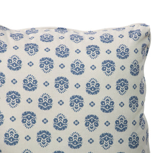 Cottage Loveseat in Navy Floral