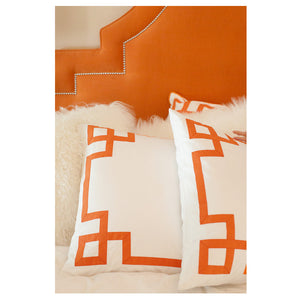 Orange Key Duvet Cover