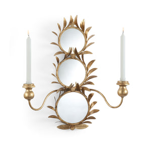 Antique Gold Sconce