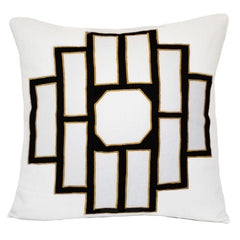 Asphalt Mark Embroidered Pillow