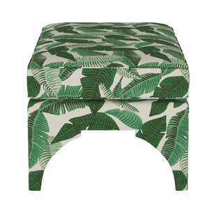 Banana Leaf Bench