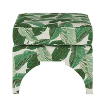 Load image into Gallery viewer, Banana Leaf Ottoman