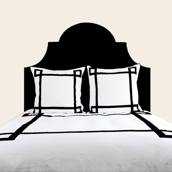 Black Lucky Duvet Cover