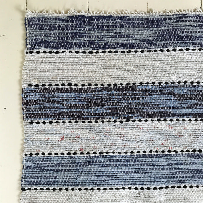 Blues Stripe Folklore runner