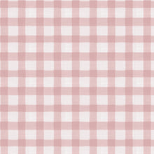 Load image into Gallery viewer, Brigit Upholstered Headboard - Pink Gingham