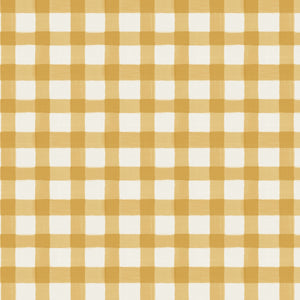 Brigit Upholstered Headboard - Yellow Gingham
