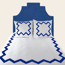 Load image into Gallery viewer, Cobalt Bang Bang Duvet Cover