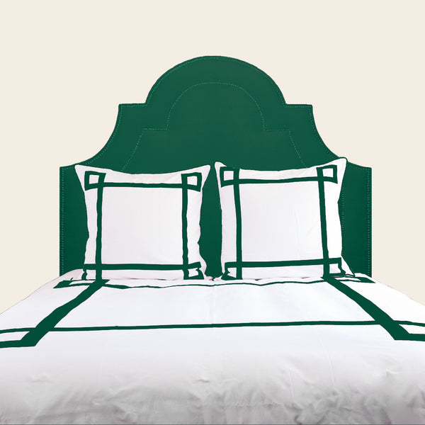 Emerald Lucky Duvet Cover