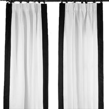Load image into Gallery viewer, Regency Curtain - Black