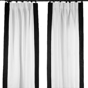 Regency Curtain - Black