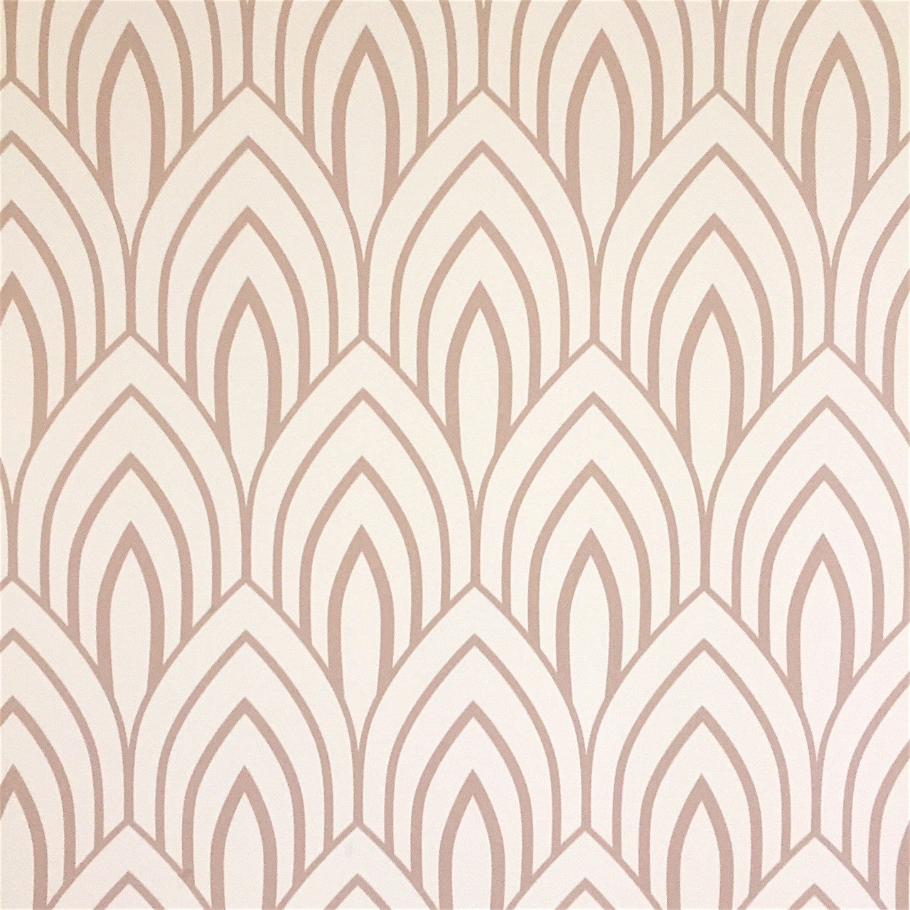 Beige Arches Wallpaper