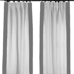 Gray Regency Curtain