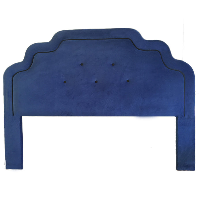Art Deco Luxury Headboard - Indigo