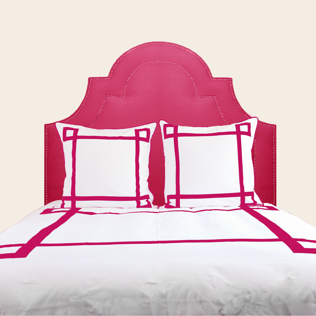 Hot Pink Lucky Duvet Cover