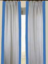 Load image into Gallery viewer, Indigo Regency Curtain