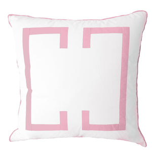 Powder Pink Deco Euro Sham