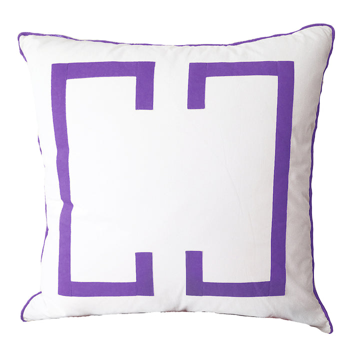 Purple Rain Deco Euro Sham