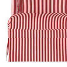 Load image into Gallery viewer, Candy Stripe Dining Banquette