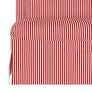 Candy Stripe Dining Banquette