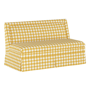 Gingham Banquette