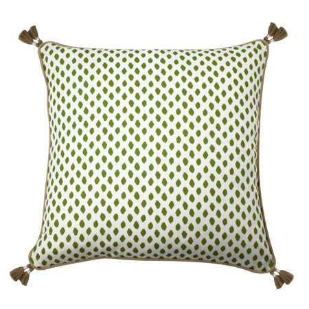 Fern Dotted Pillow