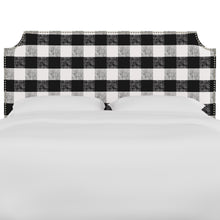 Load image into Gallery viewer, Oscar Upholstered Headboard - Country Plaid