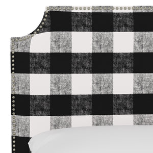 Oscar Upholstered Headboard - Country Plaid