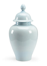 Load image into Gallery viewer, Baby Blue Porcelain Glazed Jar