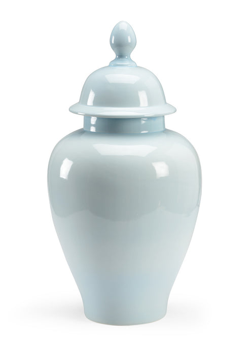 Baby Blue Porcelain Glazed Jar