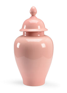 Rose Glazed Porcelain Jar
