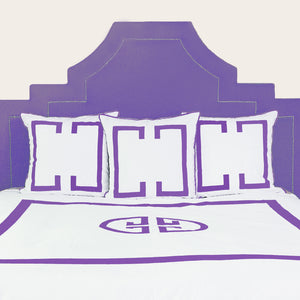 Purple Rain Deco Duvet Cover