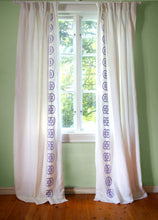 Load image into Gallery viewer, Monogram Curtain - Amethyst