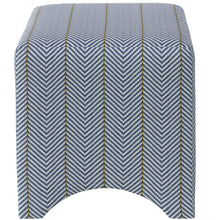 Load image into Gallery viewer, Sailor Chevron Ottoman