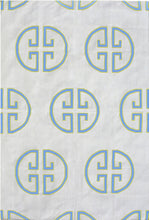 Load image into Gallery viewer, SKY & FIELD MONOGRAM COTTON CARPET
