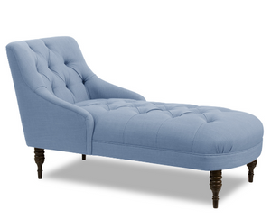 Lulu Settee - French Blue