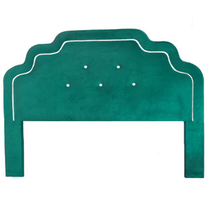 Art Deco Luxury Headboard - Teal