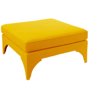 Viggo Cocktail Ottoman - French Yellow