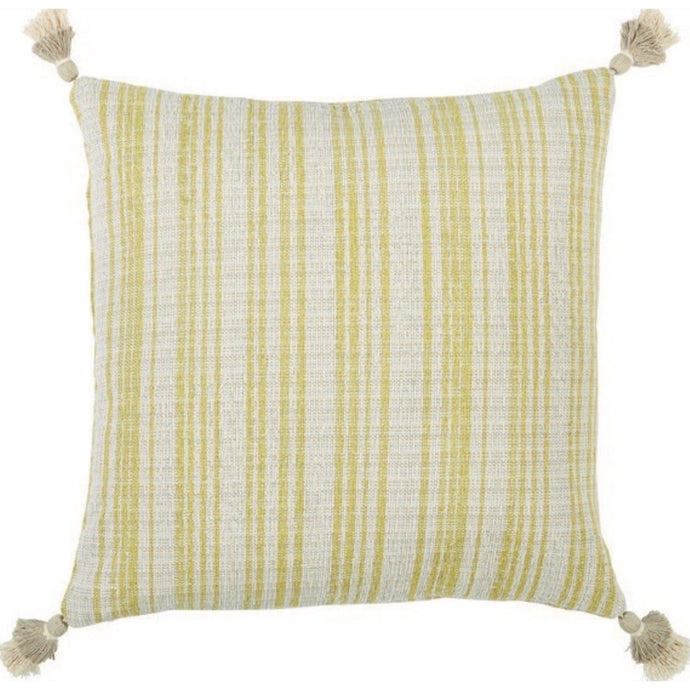 Viggo Tassle Pillow Citron