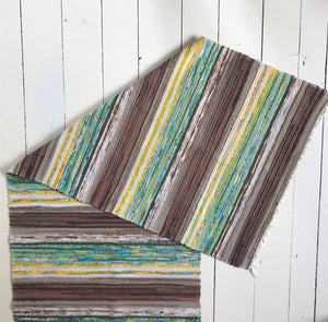 Yellow Stripe Vintage Runner