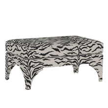 Load image into Gallery viewer, Zebra Print Bench