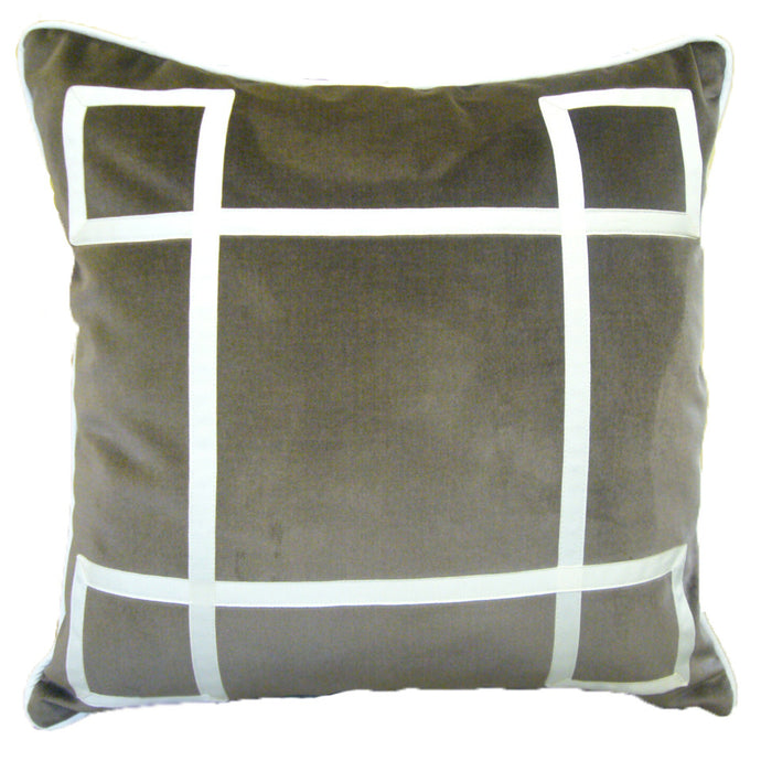 Bark Velvet Regency Pillow