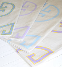 Load image into Gallery viewer, Soft Sky Monogram Rug