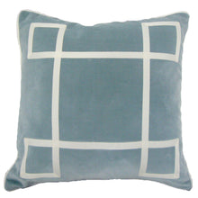 Load image into Gallery viewer, Cloudy Skies Regency Velvet pillow