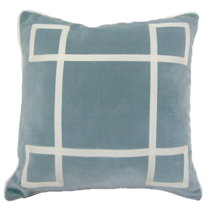 Cloudy Skies Regency Velvet pillow