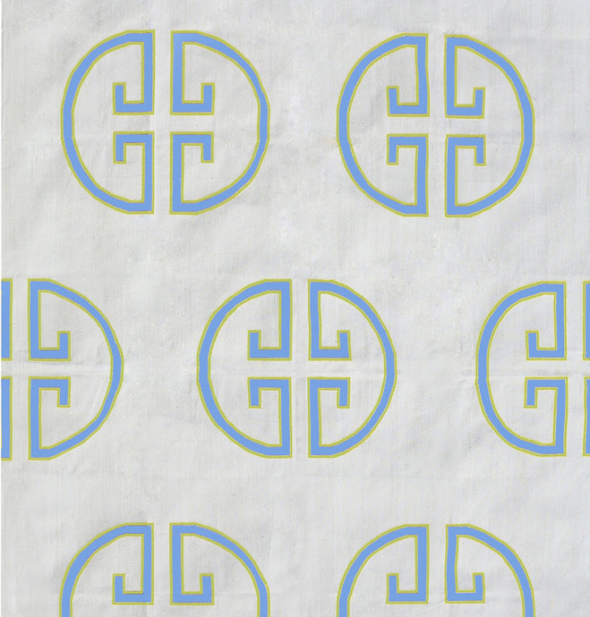 SKY & FIELD MONOGRAM COTTON CARPET